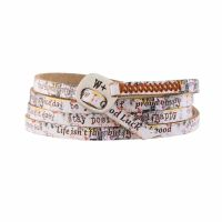 We Positive Bracelet Print Graffiti
