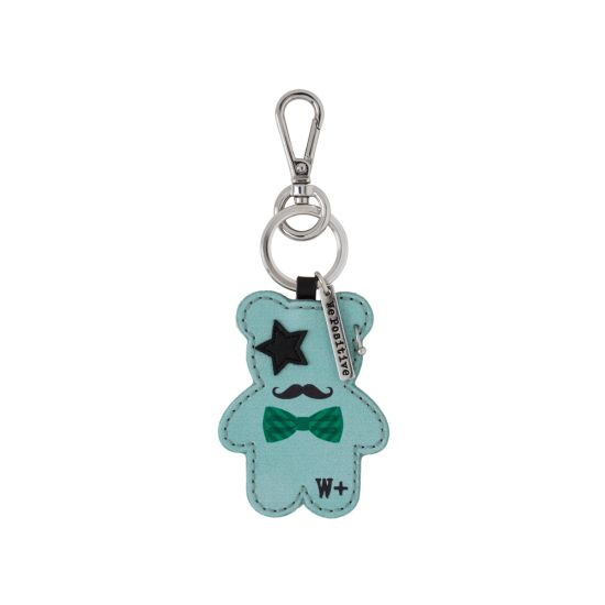 Porte clés We Positive Teddy Rock Turquoise