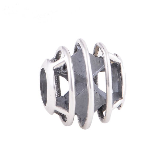 Charm Cylindrique Argent 925