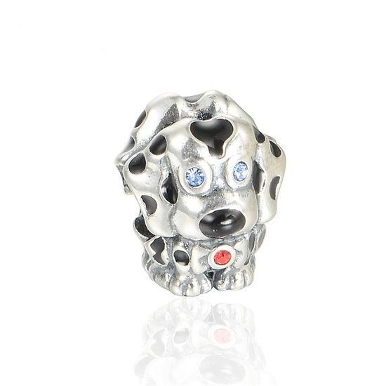 925 Sterling silver Dalmatian Disney Charm