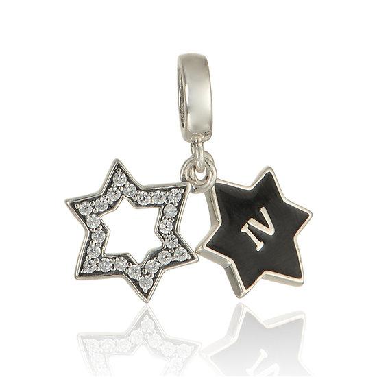 Pendentif Étoile Argent 925 (abîmé)