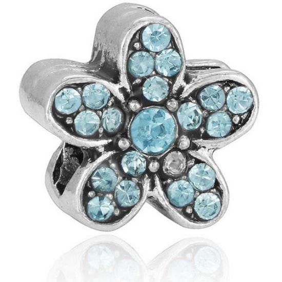 Charm Marguerite turquoise