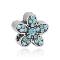 Turquoise daisy charm