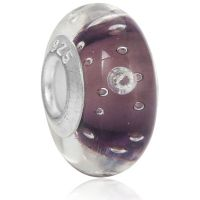 Charm Murano Violet cristal