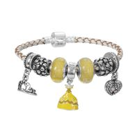 Disney Beauty charm bracelet 6.7 inch