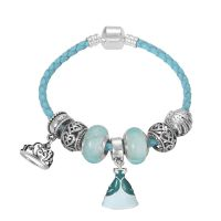 Disney The Little Mermaid charm bracelet 6.3 inch