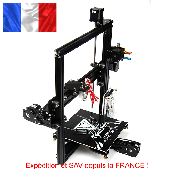imprimante 3d TEVO i3 DIY + Auto BED LEVELING + Pro Metal extruder
