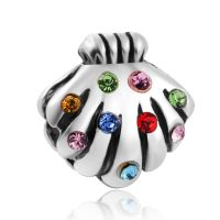 Charm Coquillage Multicolore