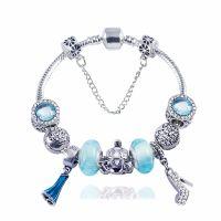 Disney Elsa Charm Bracelet 6.7 inch