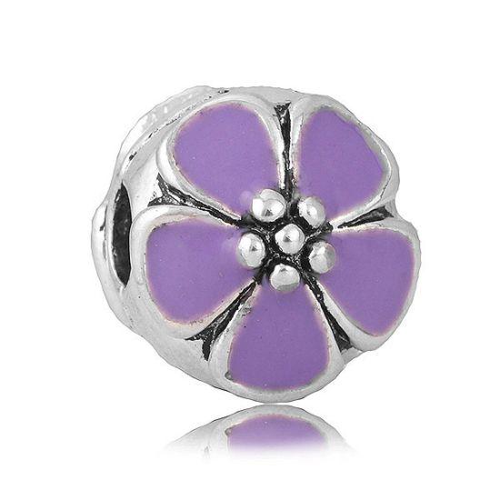 Clip Marguerite violet
