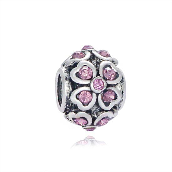 Charm Fleur violette