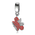 Charm Pendentif Disney Couronne Minnie rouge