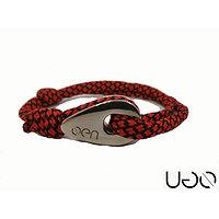 Bracelet UGO Cordon Rouge et Noir