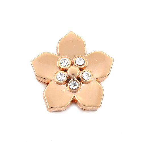 Princesse Lou EMOTION Charm Fleur Or