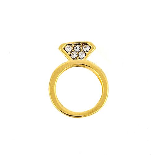 Princesse Lou EMOTION Charm Bague Or