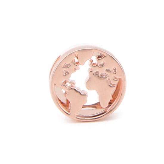 Princesse Lou EMOTION Charm Globe-trotteur Or rose