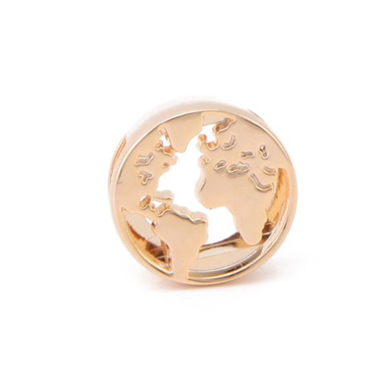 Princesse Lou EMOTION Charm Globe-trotteur Or