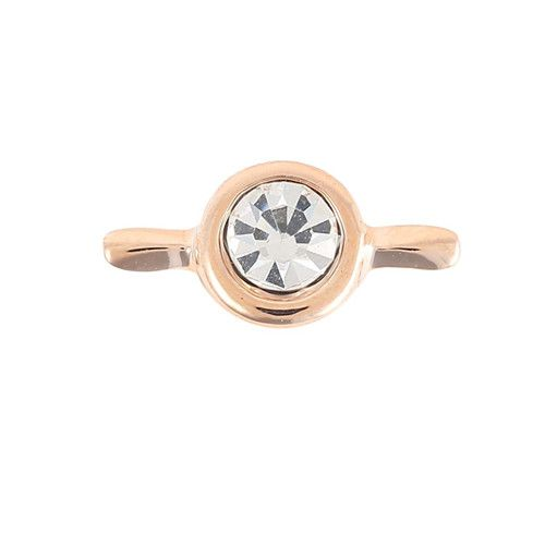 Princesse Lou EMOTION Charm Solitaire Or rose
