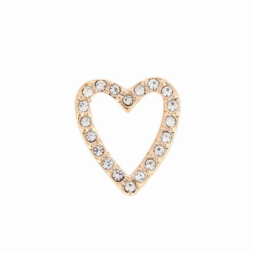 Princesse Lou EMOTION Charm Coeur brillant Or rose