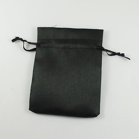 Pochette Cadeau en tissu noir