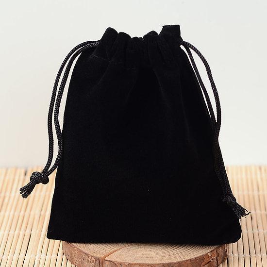Pochette Cadeau en velours noir