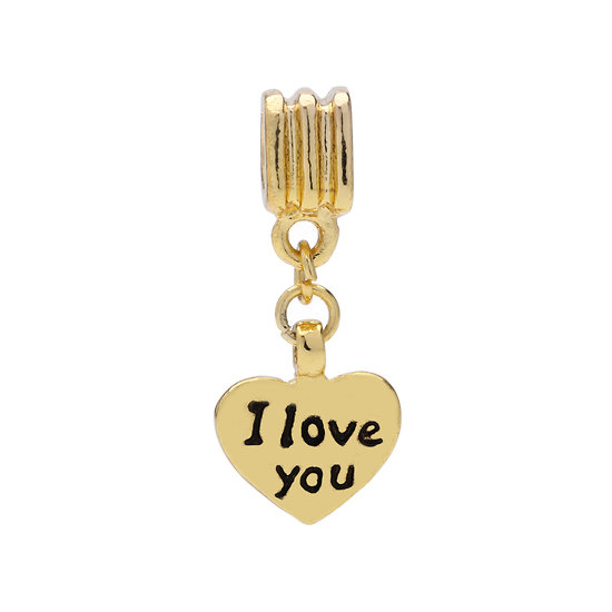 Pendentif I love you