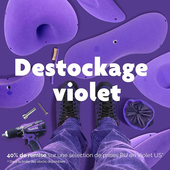 Déstockage Violet US