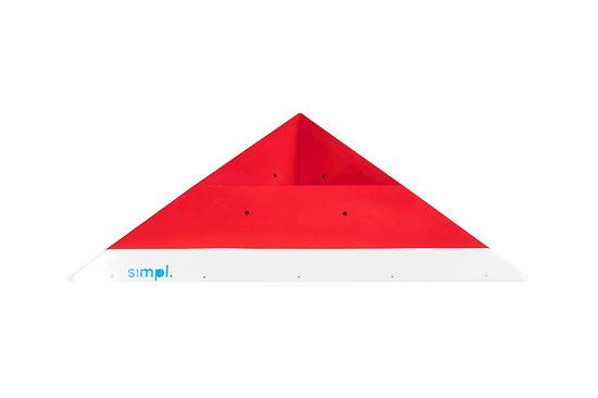 Wooden Incut Pyramids - #5E