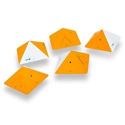 Wooden Square Pyramids - #7A
