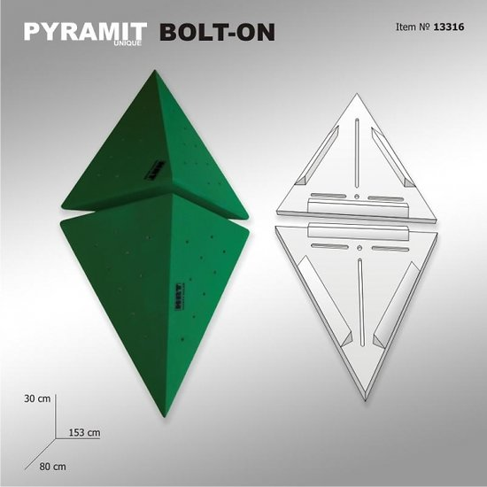 Pyramit Unique 6 - BOLT ON