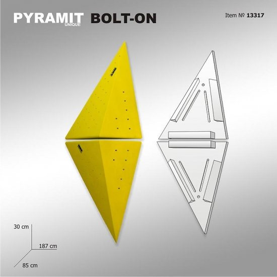 Pyramit Unique 7 - BOLT ON
