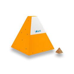 Wooden Square Pyramids - #7P
