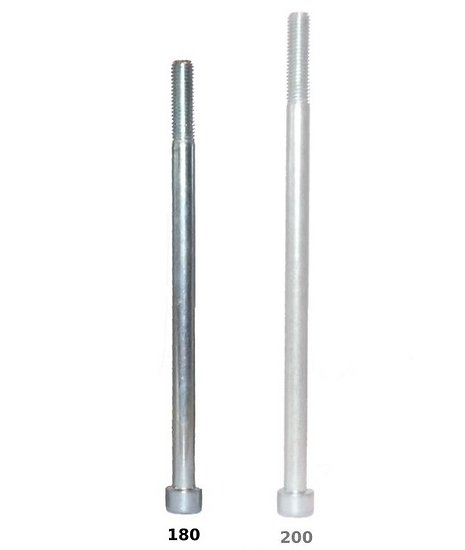 Vis CHC - longueur 180 mm - à l'unité
