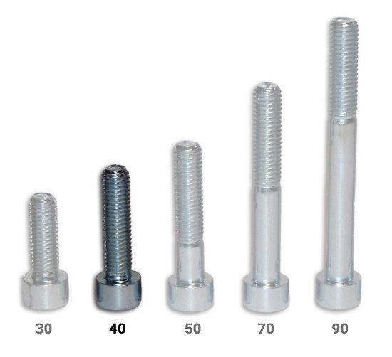 Vis CHC - longueur 40 mm - pack de 100