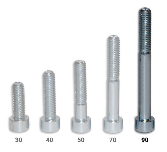 Vis CHC - longueur 90 mm - pack de 50