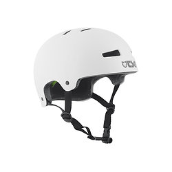 Casque TSG Evolution Youth Injected White