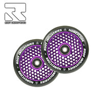 Roues Root Industries Honeycore 110 Violet (la paire)