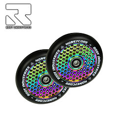Roue Root Industries Honeycore 110 Neo Chrome (la paire)
