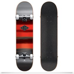 Globe Skateboard Full ON 8.0 Charcoal/Chromantic