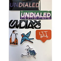 Undialed Stickers