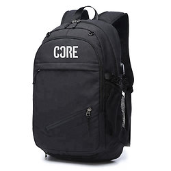 Core Sac à dos support casque Noir