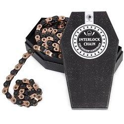 CHAINE BMX SHADOW INTERLOCK V2 COPPER/BLACK