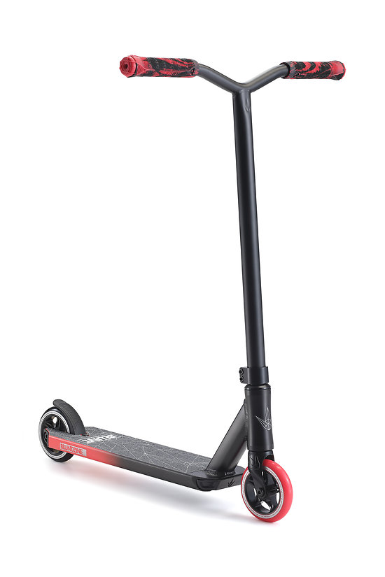 Blunt Scooter Trottinette Freestyle One S3 Black/Red