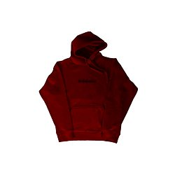 Allis Possible Hoodie Gothic Rouge