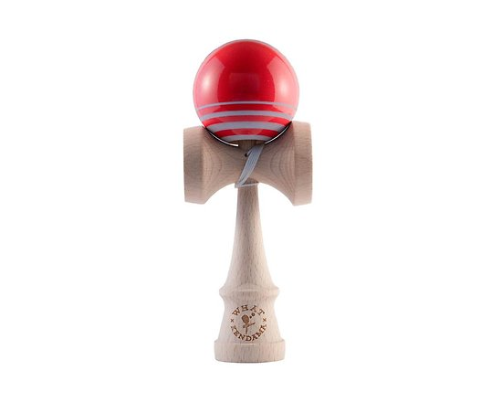 Kendama WHAT Zoom red