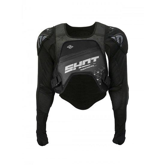 Shot Race Gilet Ultralite Black/Grey