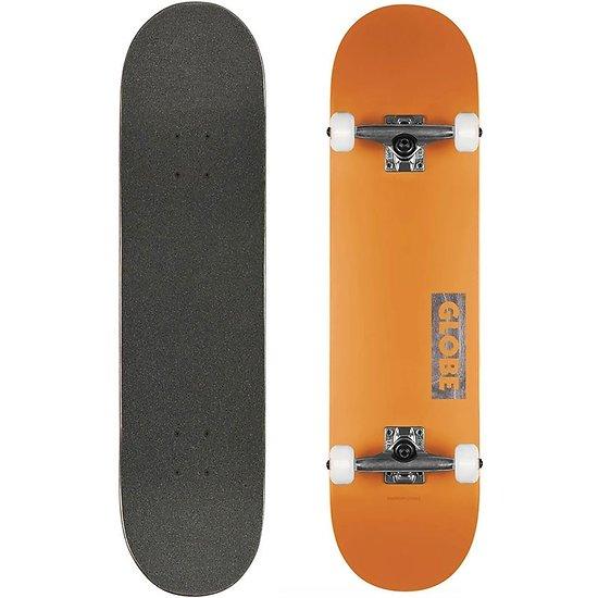 Globe Skateboard Goodstock Orange 8.125''