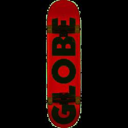 "Globe Skateboard G0 Fubar Red/White 8"""