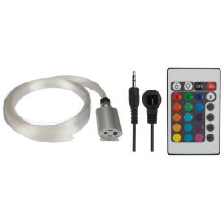 KIT A FIBRE OPTIQUE 550 FIBRES (2m) DRIVER DE LED RVB