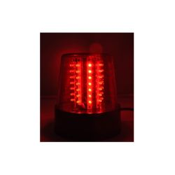 GYROPHARE 230V LED ROUGE IBIZA